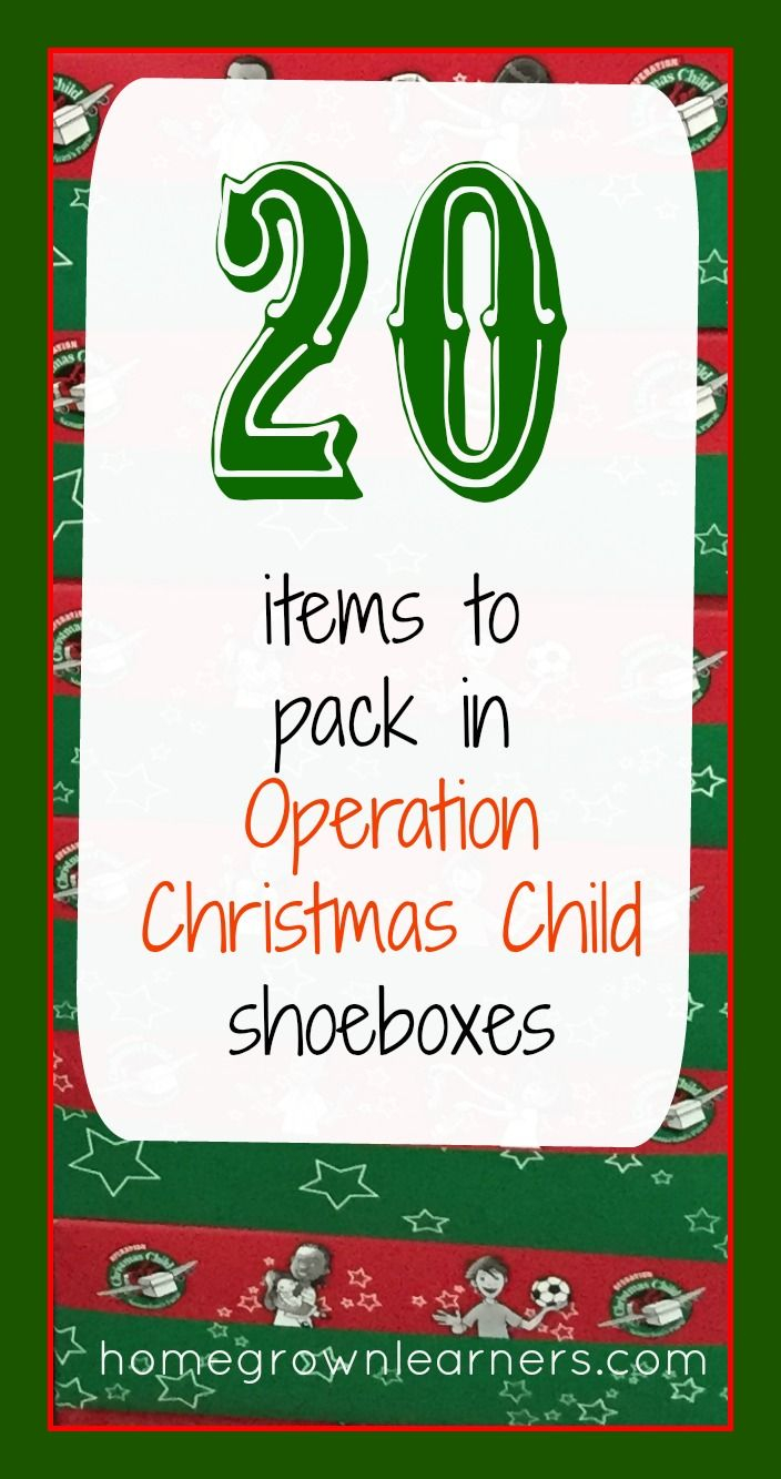 operation christmas child letter template Collection-20 Items to Pack in Operation Christmas Child Shoeboxes 6-g