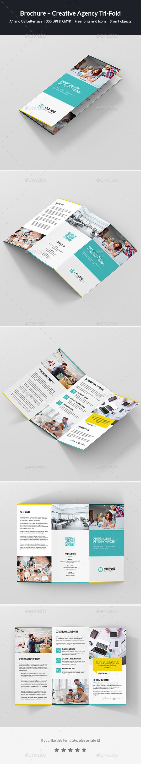 Letter Size Tri Fold Brochure Template - 109 Best Brochure Images On Pinterest