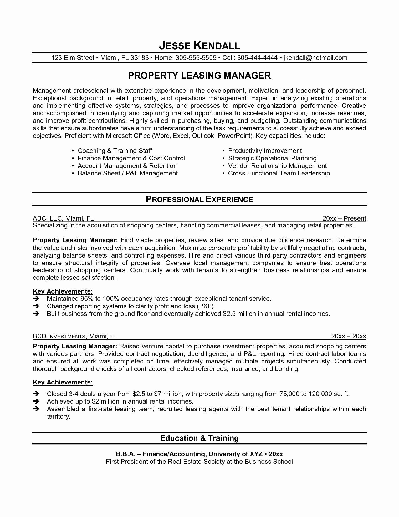 Insurance Contract Negotiation Letter Template - 15 Fresh Cover Letter Sample for Real Estate Job Resume Templates