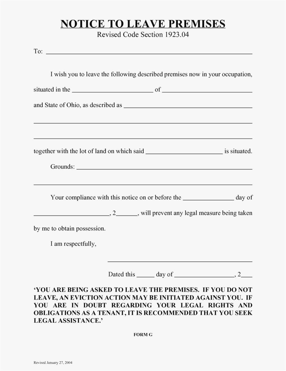 Free Tenant Eviction Letter Template - 18 30 Day Eviction Notice Template format