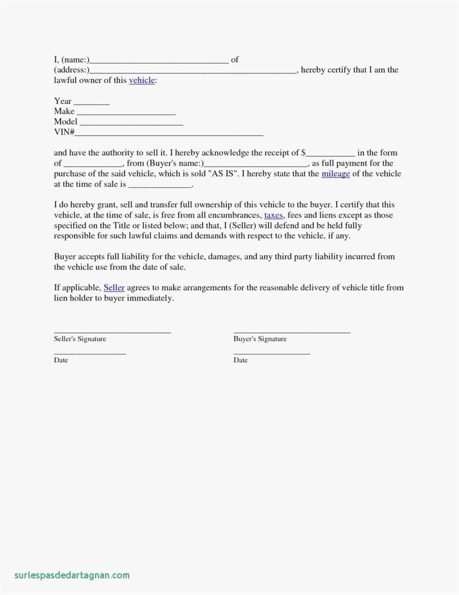 Lien Letter Template - 18 Letter Template