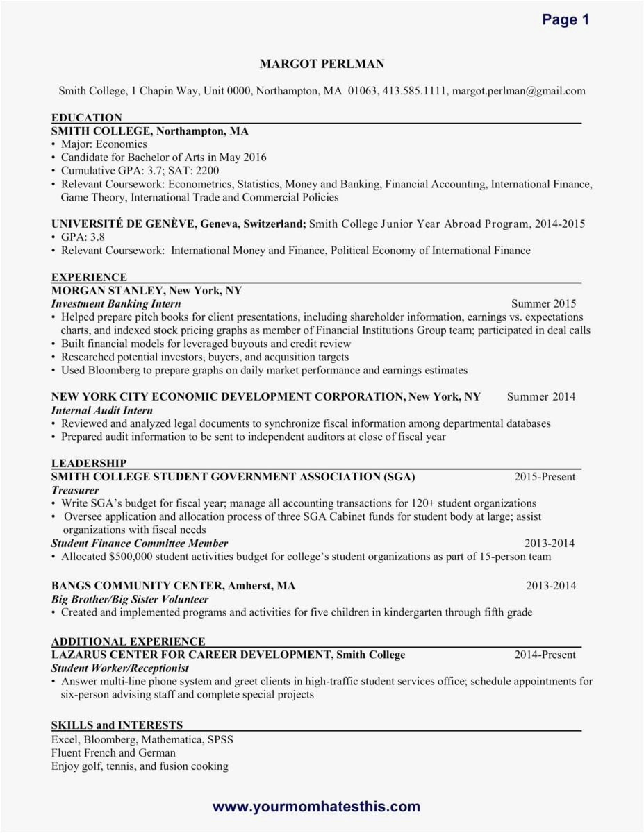 Investor Letter Template - 19 How to Write A Resume and Cover Letter Template