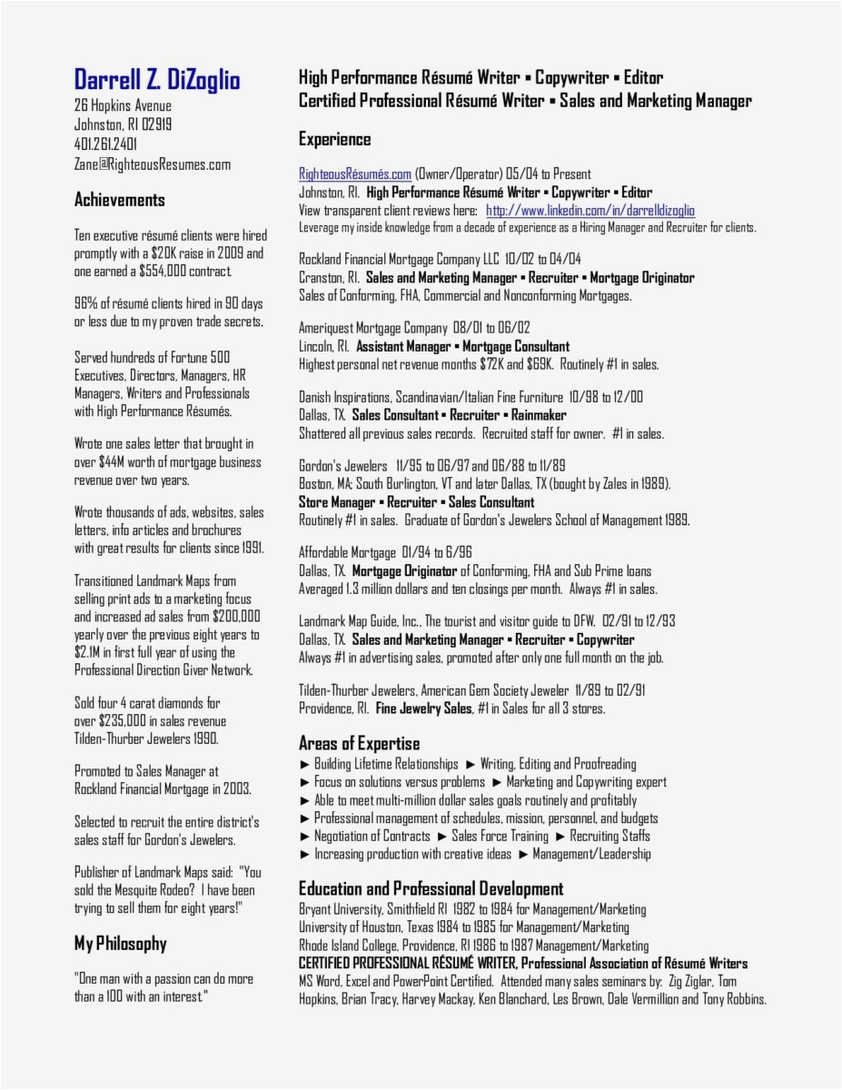 Professional Letter Template Word - 19 How to Write A Resume and Cover Letter Template