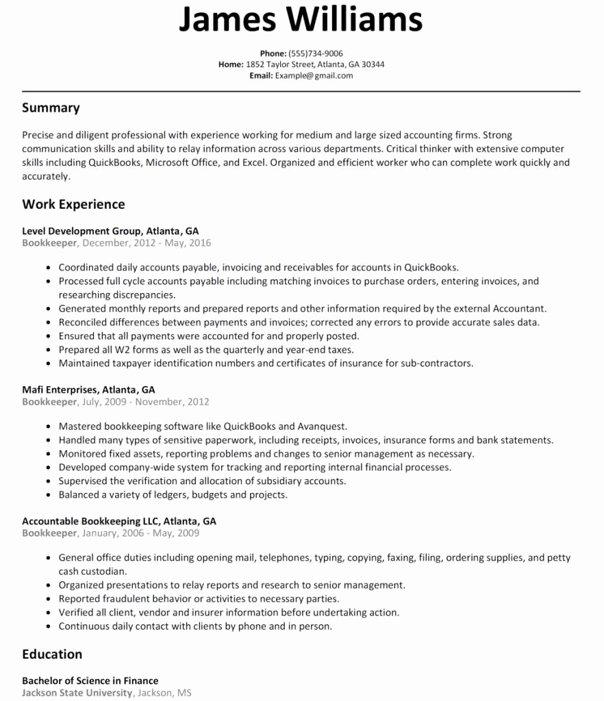 Cover Letter Template Accounting - 20 Accounting Cover Letter Template