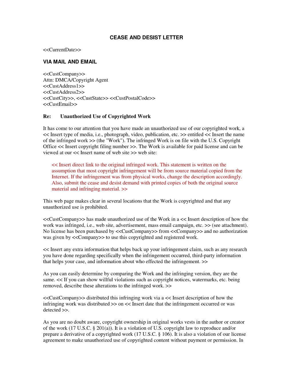 Patent Infringement Letter Template - 20 Best Trademark Infringement Letter Template Uk Pics