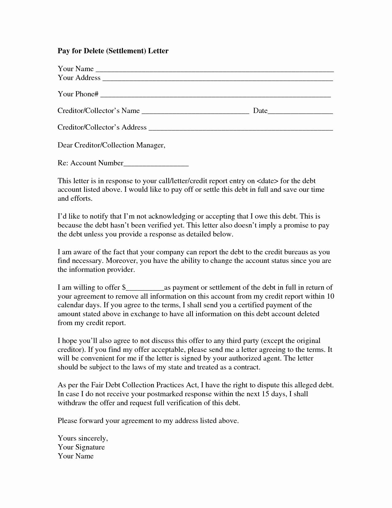 Legal Settlement Offer Letter Template - 20 Counter Fer Letter Samples