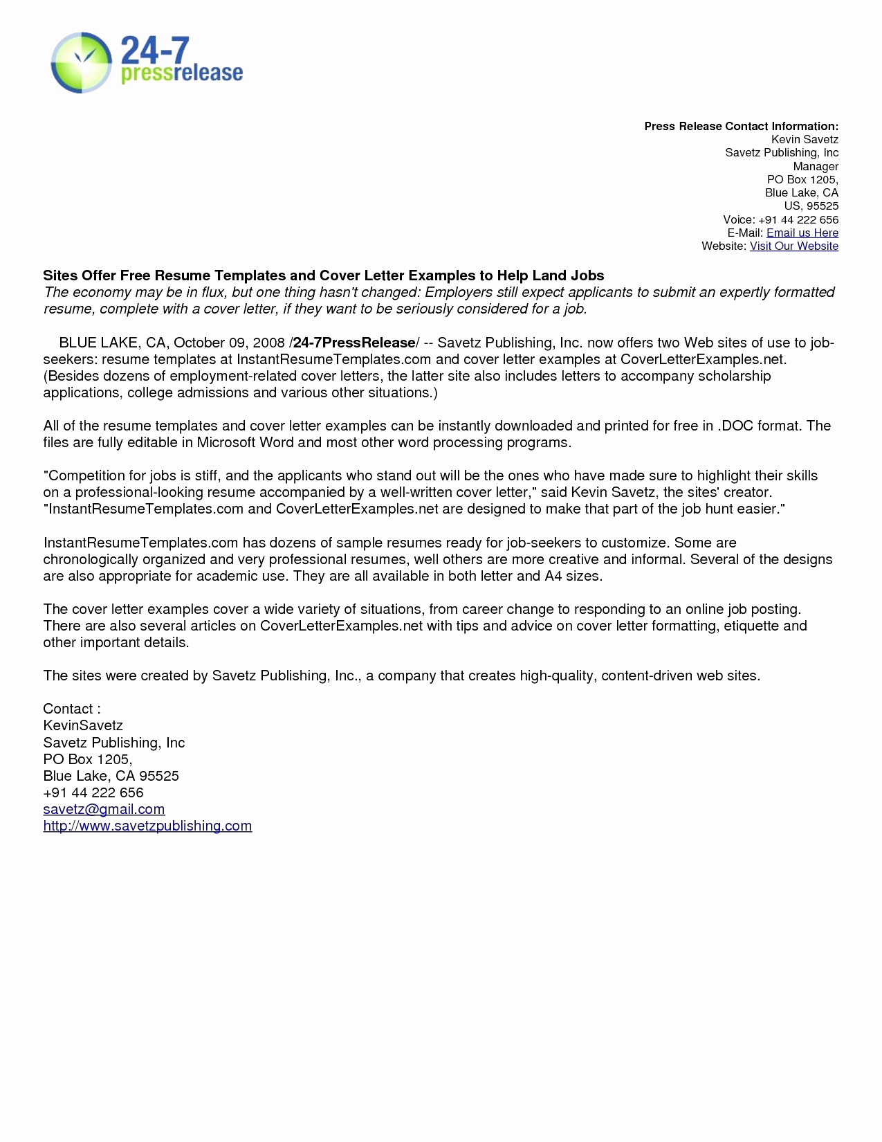 Free Online Cover Letter Template - 20 Cover Letter Maker Free
