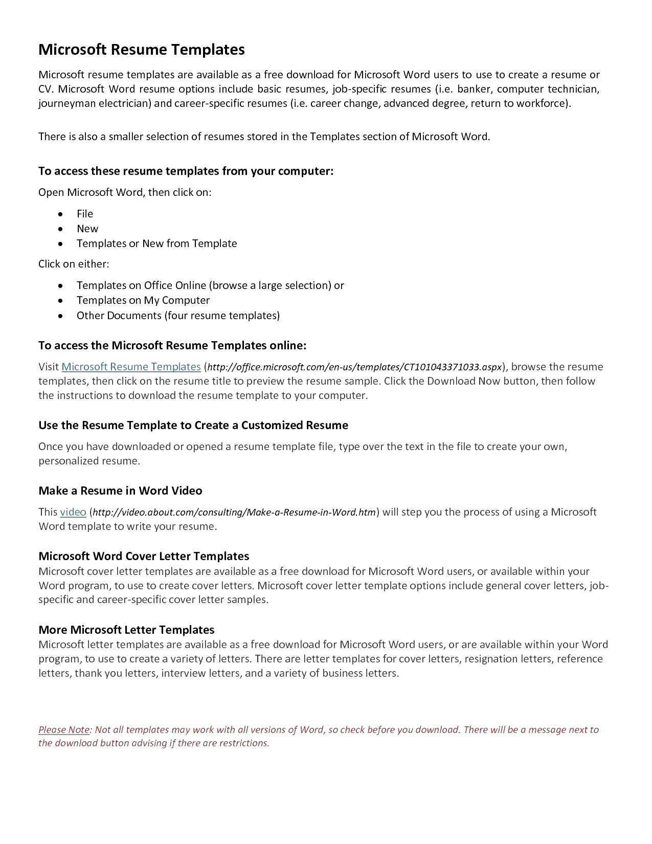 Quick Easy Cover Letter Template - 20 Easy Cover Letter Templates