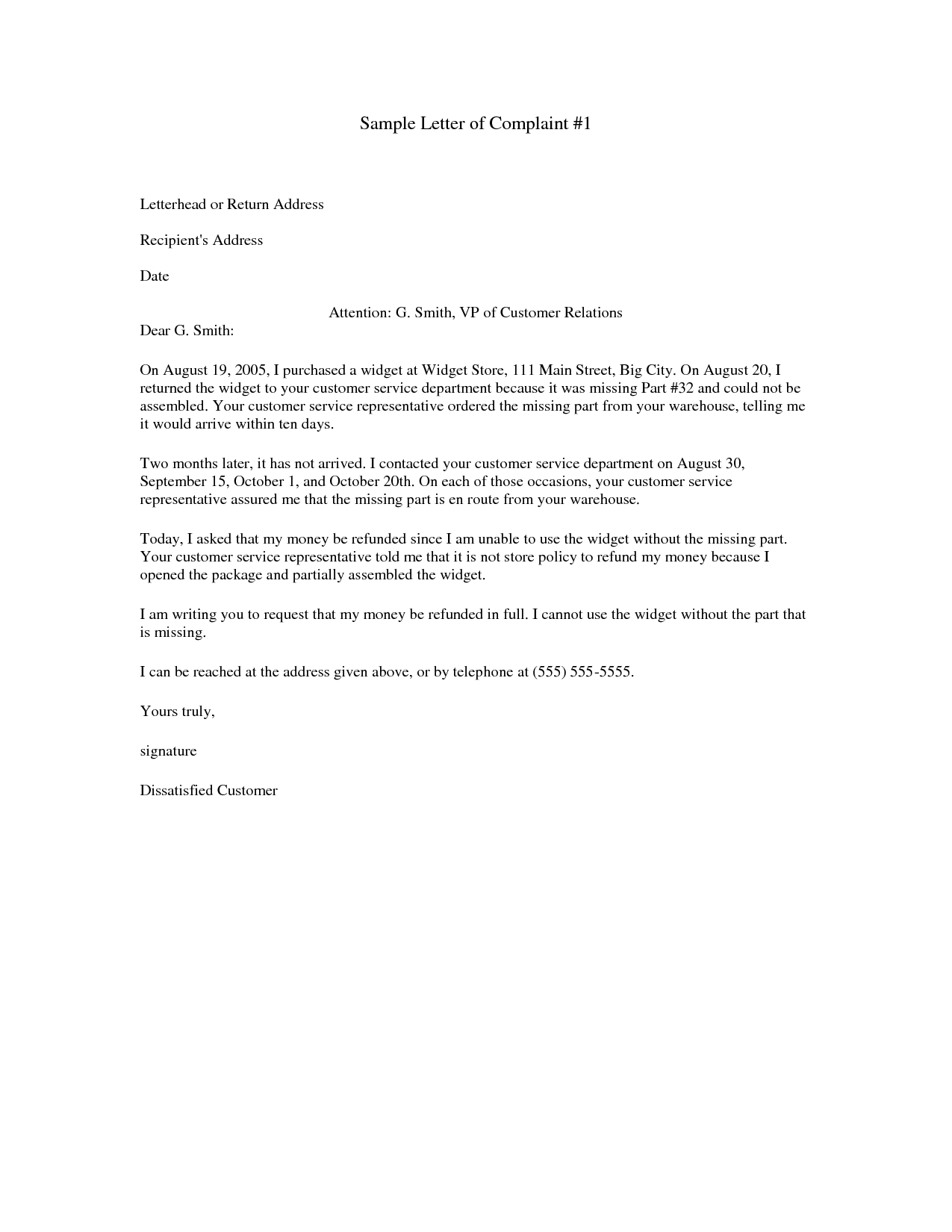 Refund Demand Letter Template - 20 Inspirational Letter Template Missing Documents