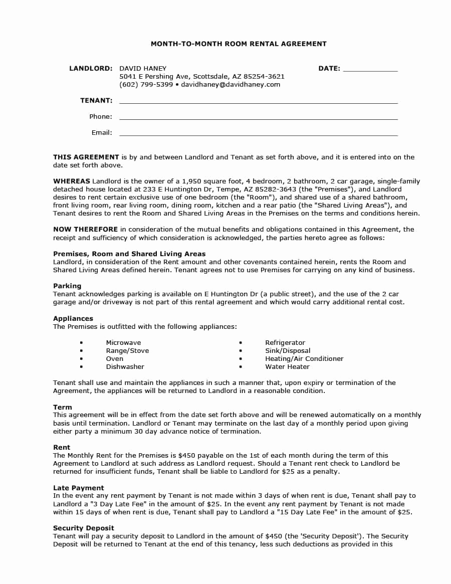 Month to Month Lease Termination Letter Template - 20 Lease Termination Letter From Landlord