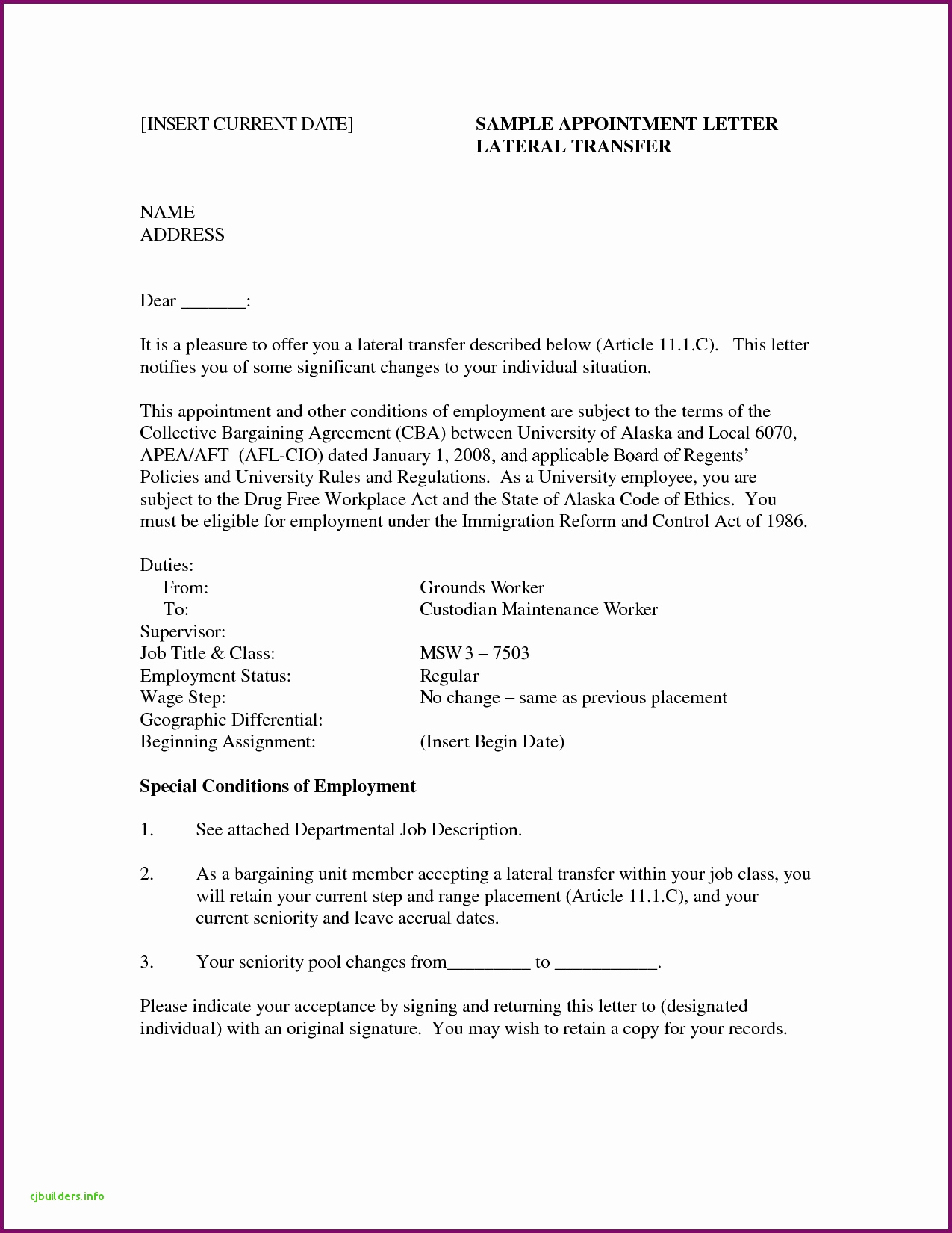 Counter Offer Letter Template - 20 Salary Counter Fer Letter Sample