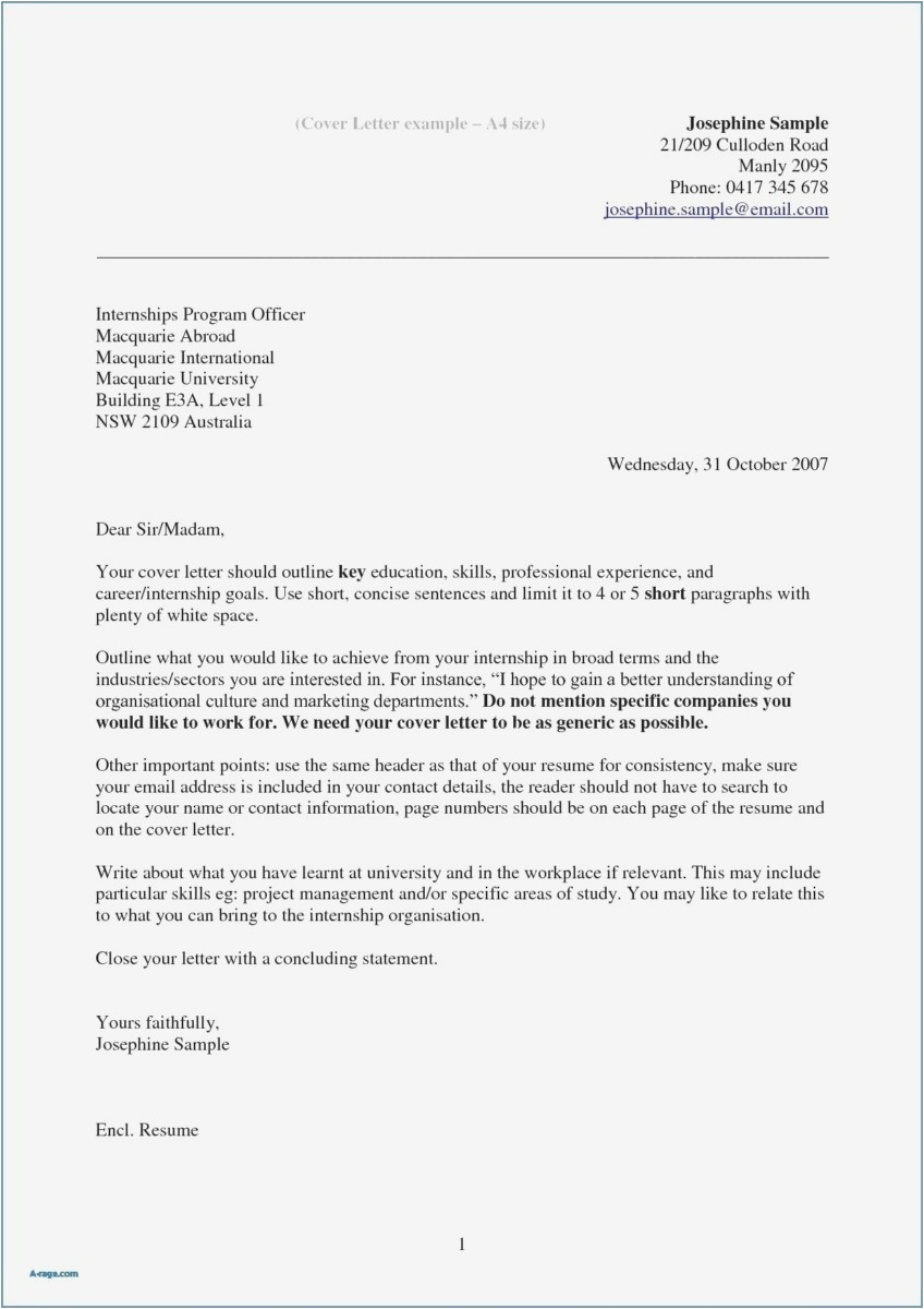 How to Make A Cover Letter Template - 24 Free Cover Letter Template Free