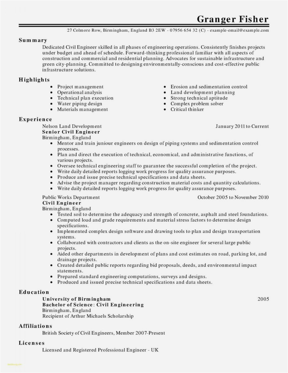 Civil Demand Letter Template - 25 How to Write A Resume and Cover Letter Example