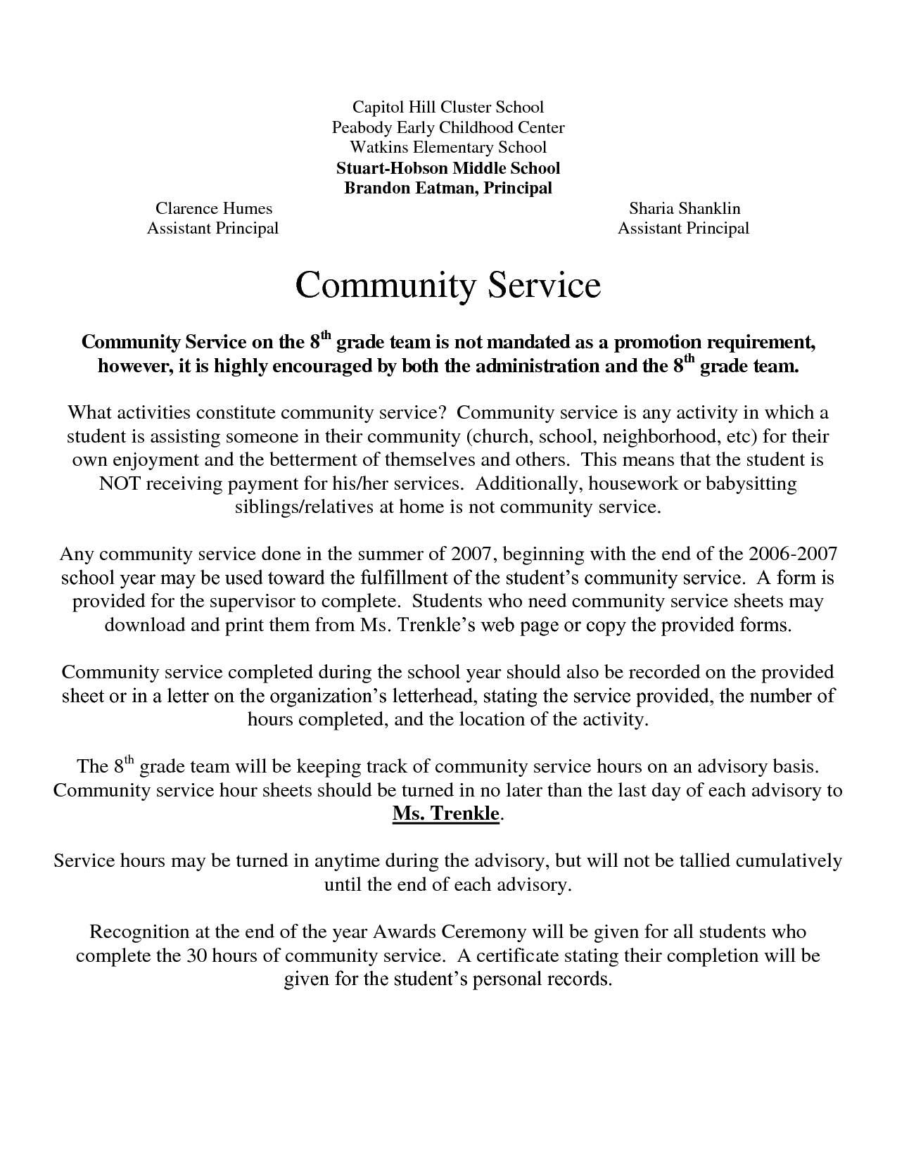 Court ordered Community Service Letter Template - 25 Munity Service Pletion Letter to Court Template Sample