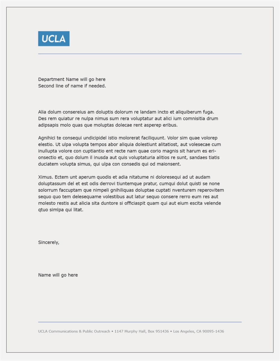 Rent Letter Template - 27 Generic Cover Letter Template Free