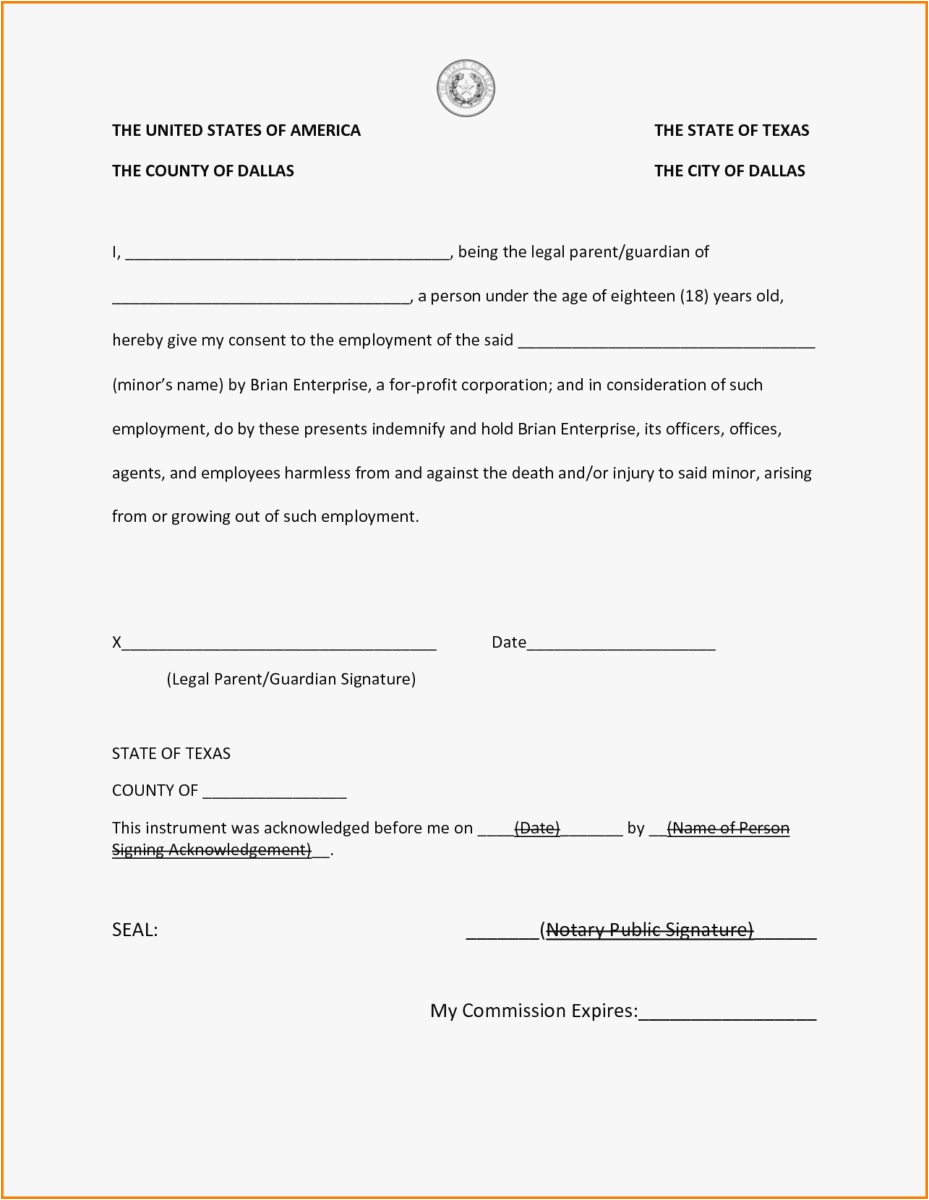Notarized Letter Template Word - 29 Notary Template Example