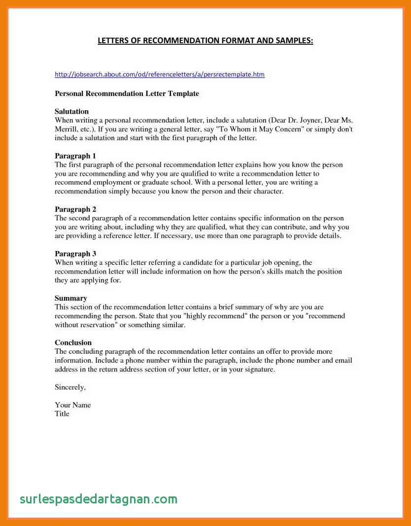 Letter Of Recommendation Letter Template - 3 4 Letters Re Mendation for Nursing School Best Letter
