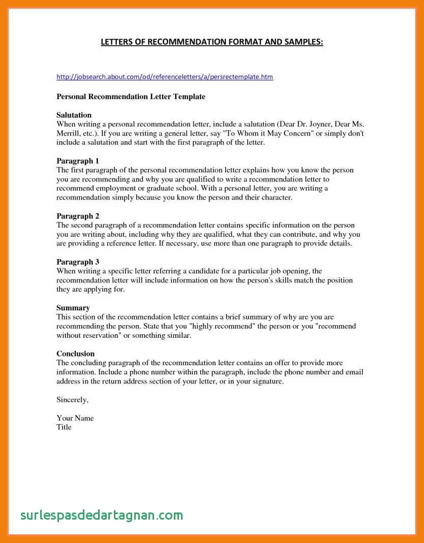Template for College Recommendation Letter - 3 4 Letters Re Mendation for Nursing School Unique Sample