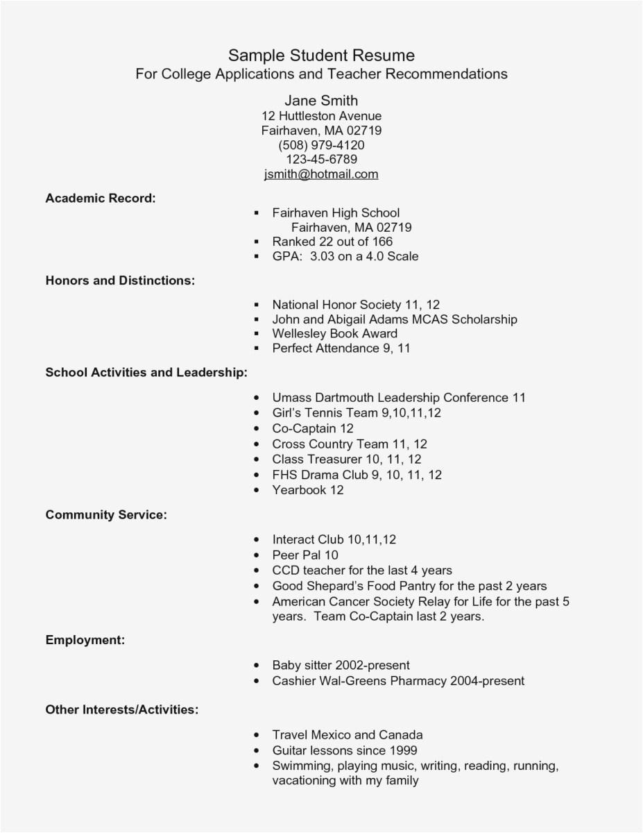 Brag Sheet Template for Letter Of Recommendation - 30 New Brag Sheet for Letter Re Mendation Examples