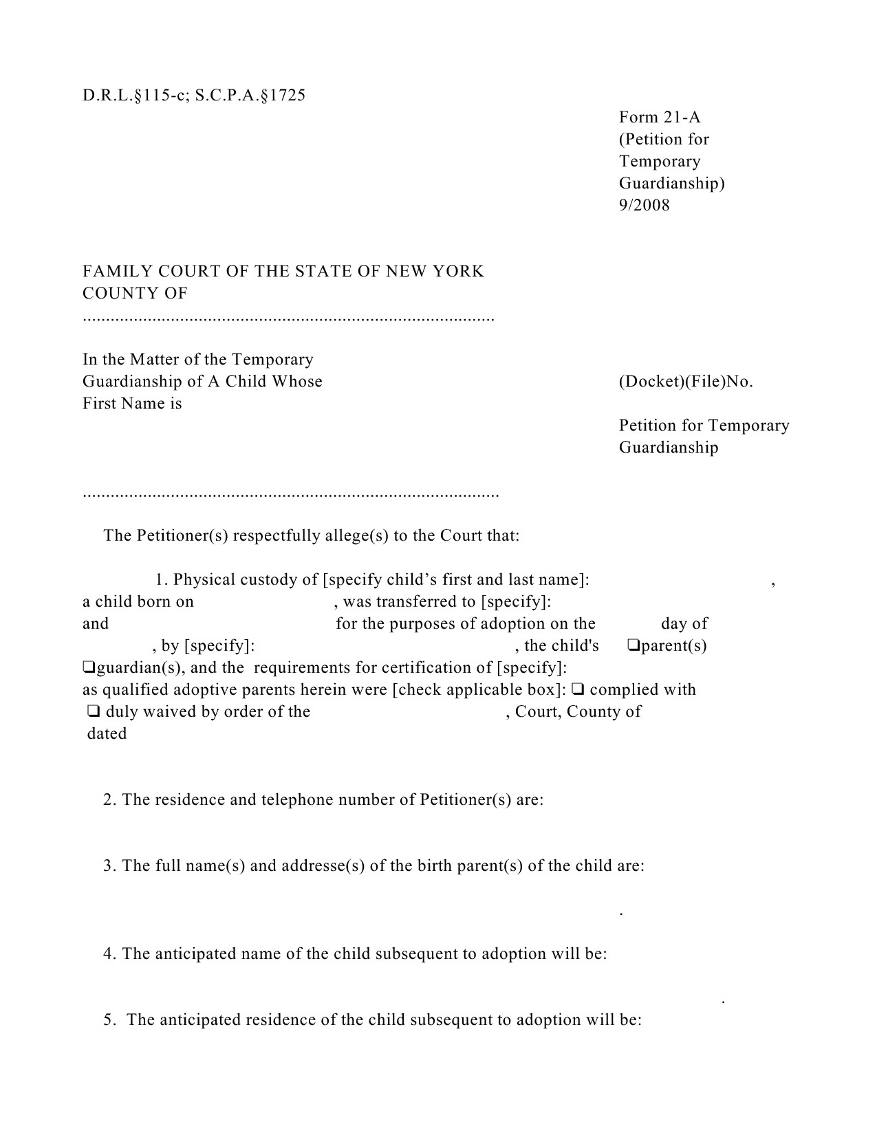 Template for Temporary Guardianship Letter - 35 New Temporary Custody Agreement