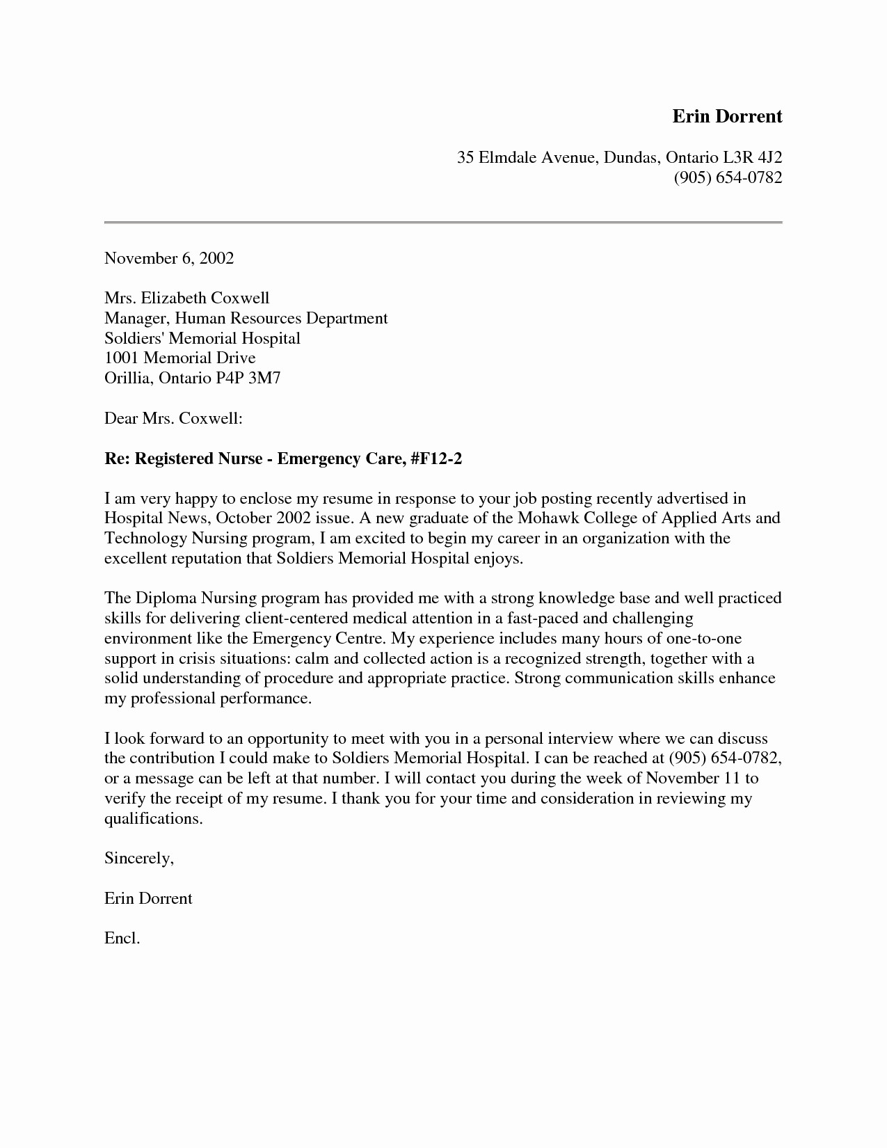 Hospital Letter Template - 36 Lovely Nurse Practitioner Cover Letter Sample