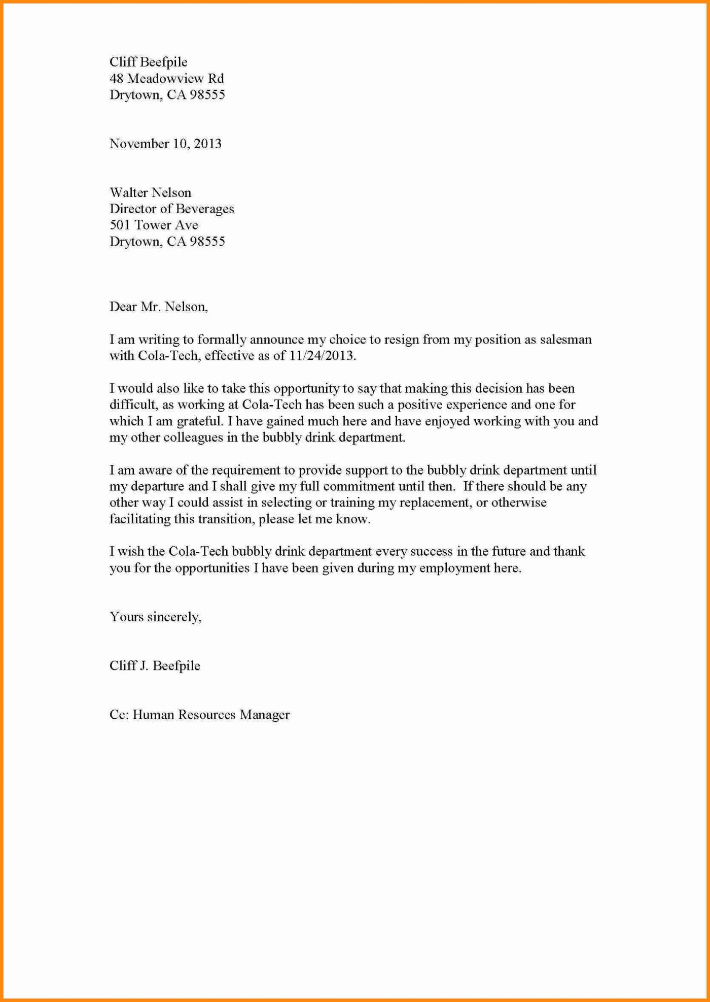 10 Day Demand Letter Template - 38 Application for Leave Personal Reason Well Application for Leave