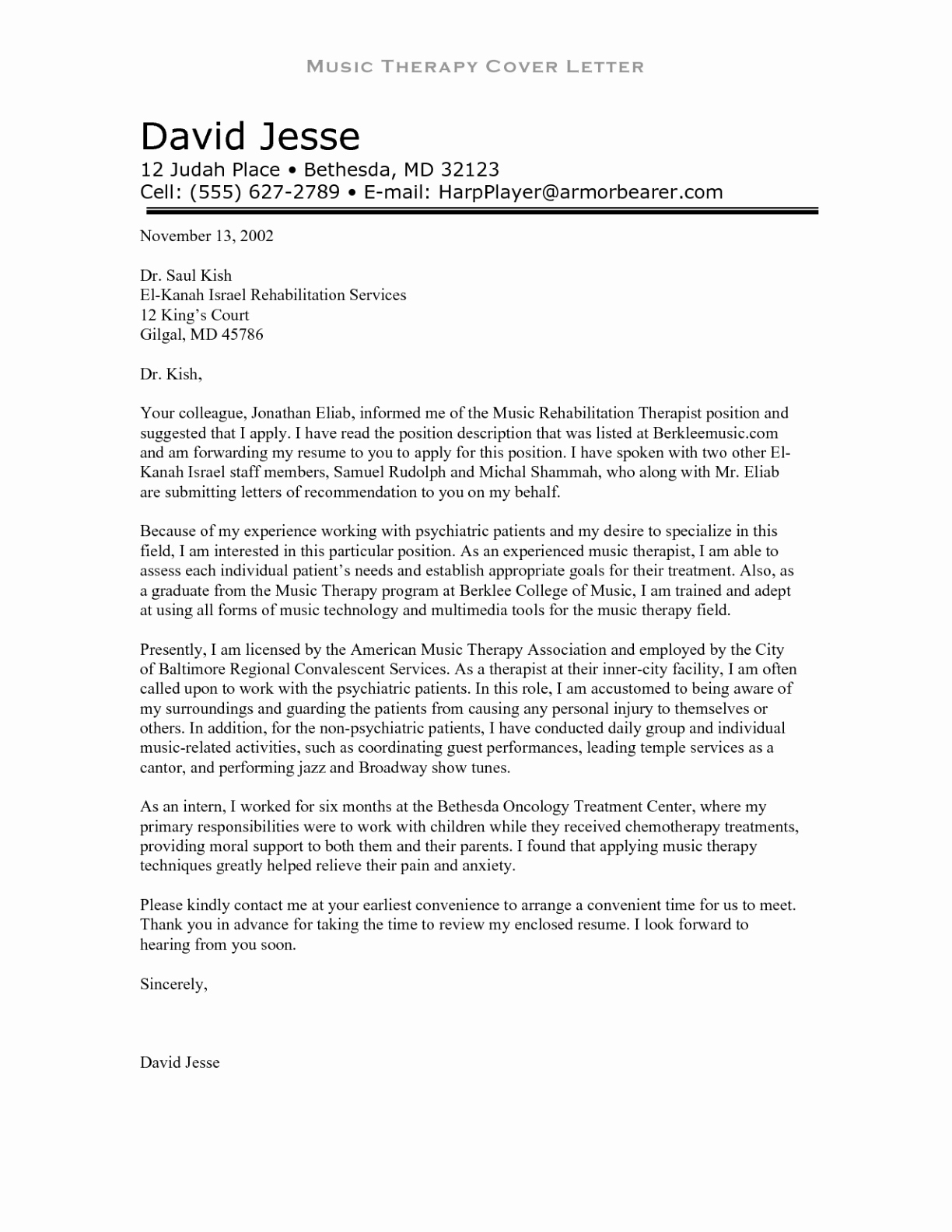 Physical therapist Cover Letter Template Samples | Letter Template ...