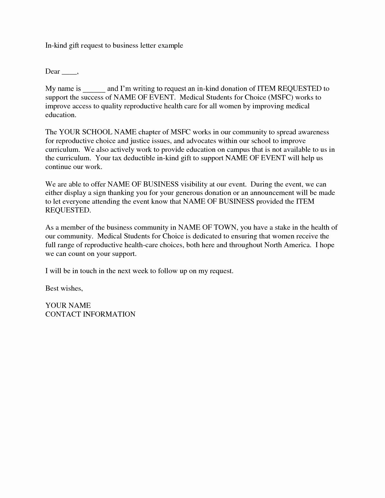Charity Sponsorship Letter Template - 46 Elegant Image Sample Donation Request Letter for School