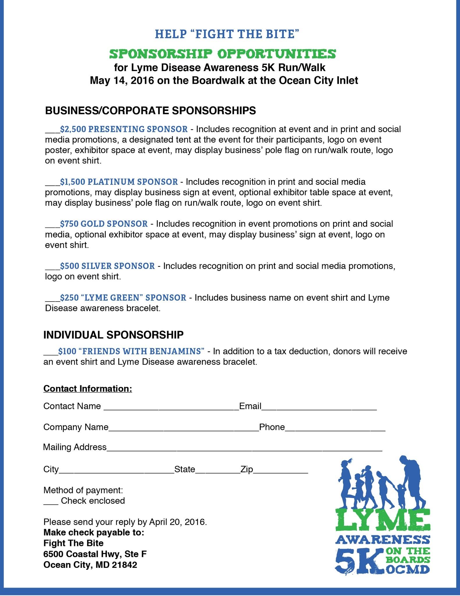 5k Sponsorship Letter Template - 5k Sponsorship Letter Sle 28 Images Charity event Sponsorship
