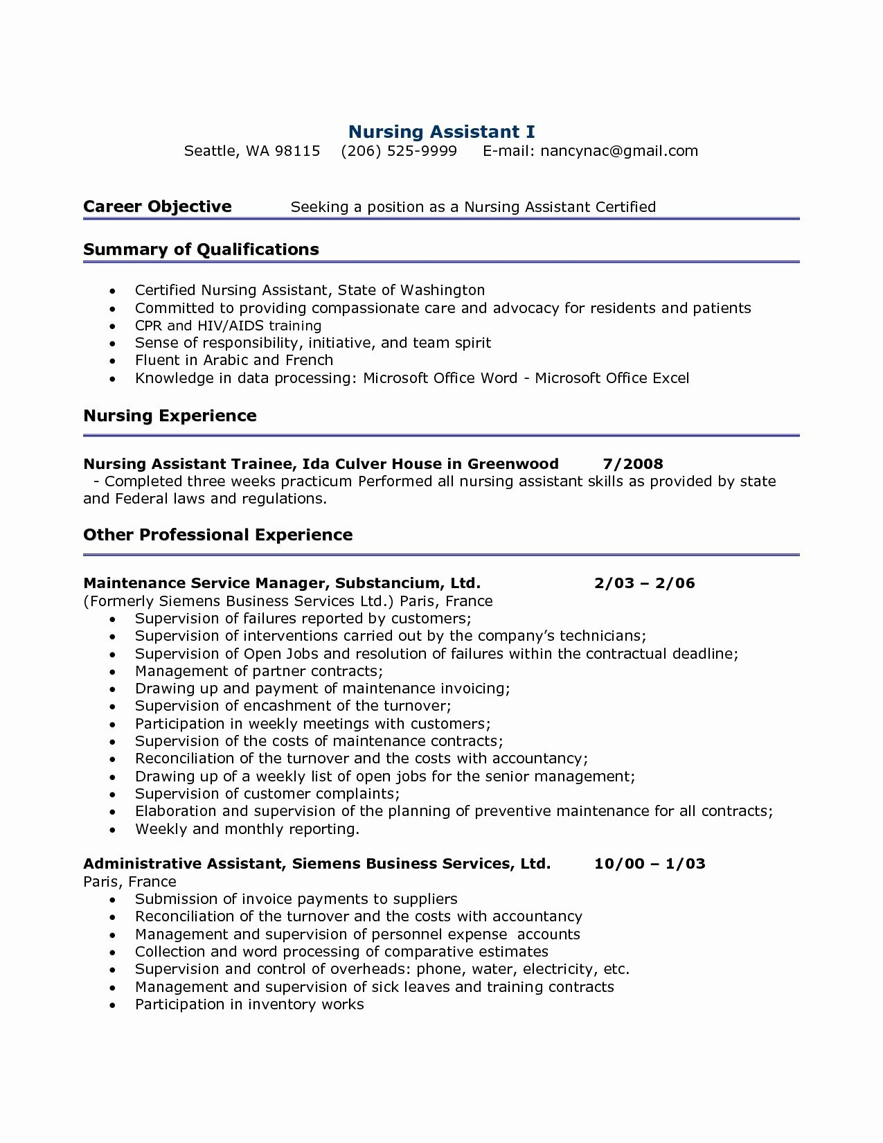 Free Sample Reference Letter Template - A Great Resume New Resume for It Job Fresh Best Examples Resumes