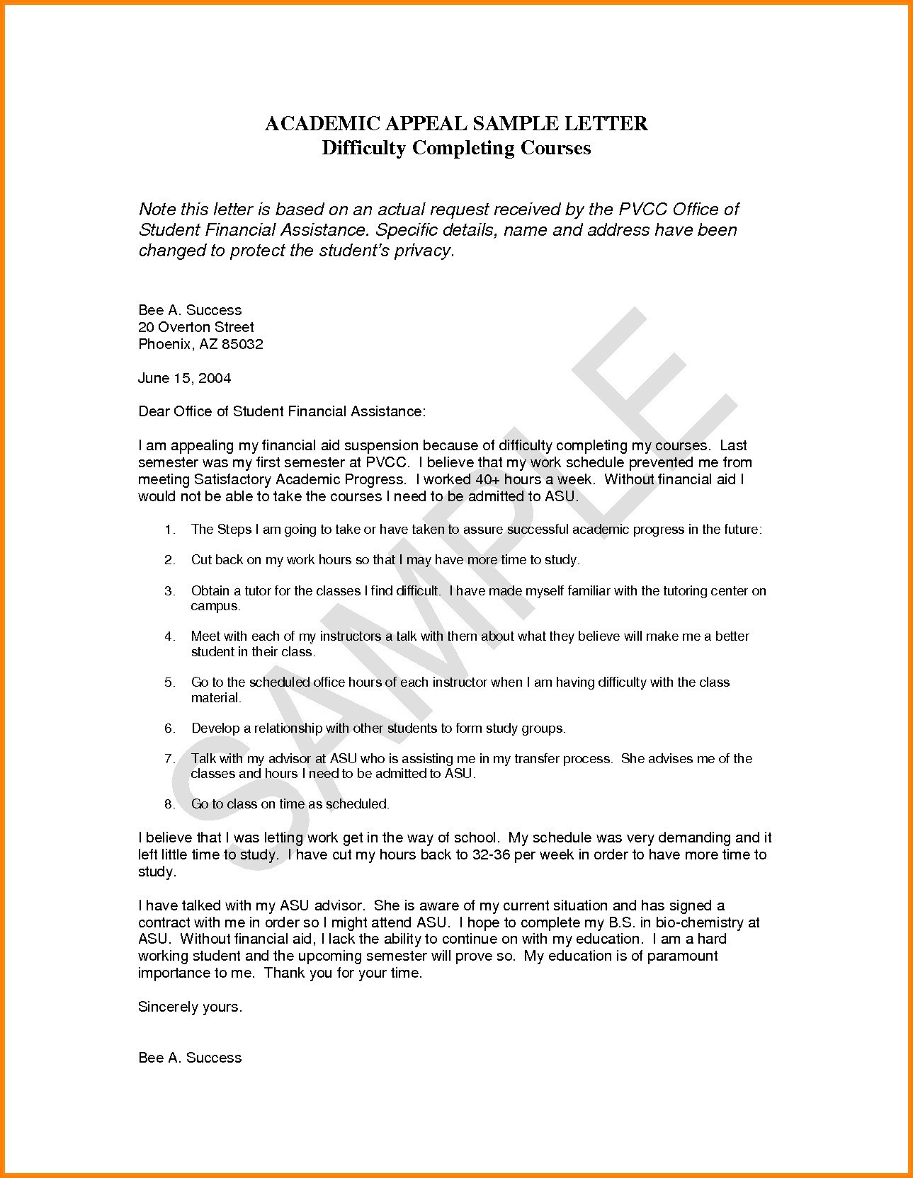 dismissal letter template example-Academic Probation Letter Template Fresh Dismissal Appeal Letter format Refrence Academic Appeal Letter 17-s