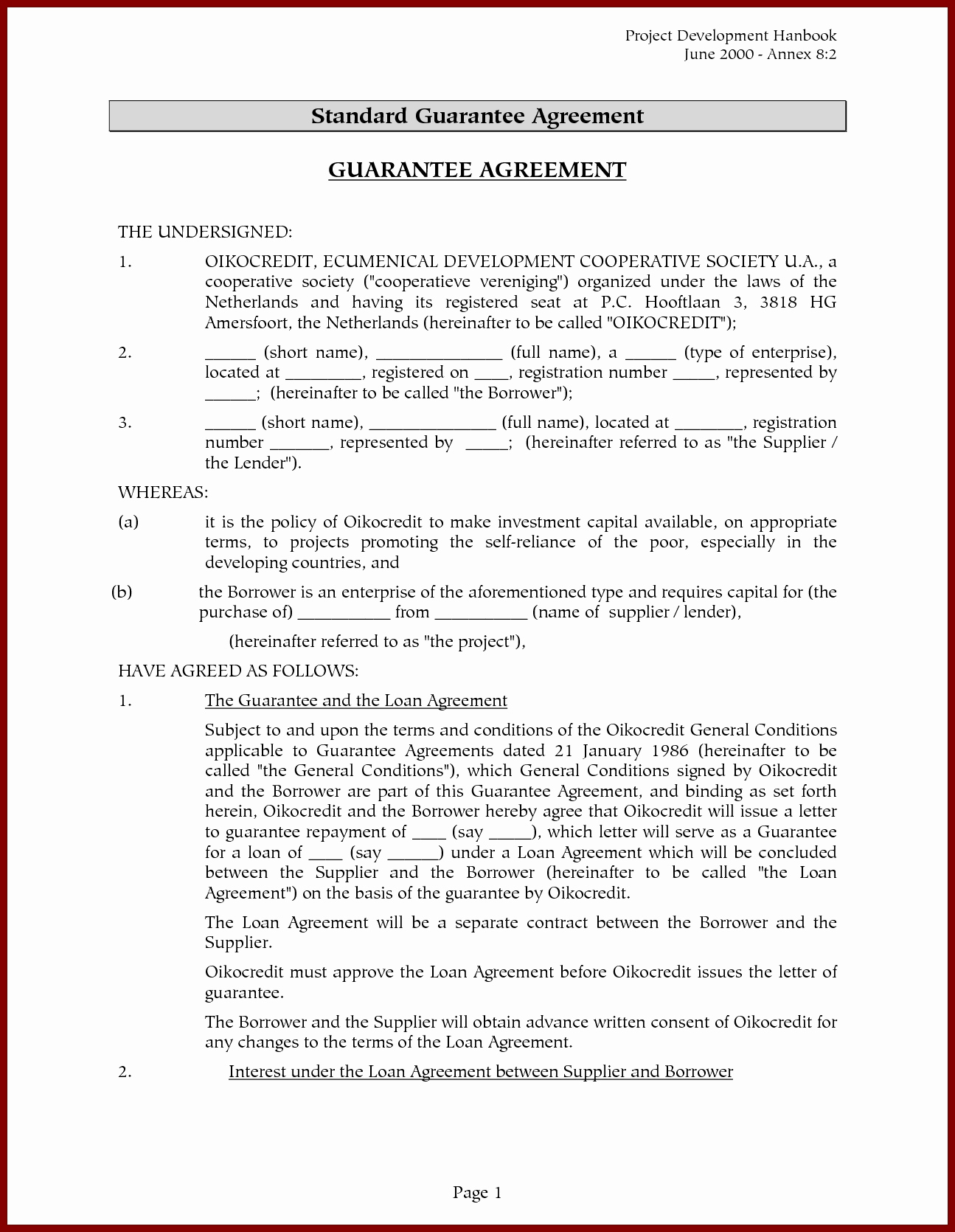 Tenant Guarantor Letter Template - Agreement Letter format Unique Tenancy Agreement Termination Letter