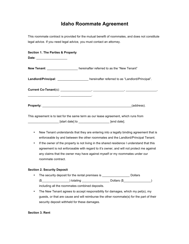 Roommate Eviction Letter Template - attractive Roommate Eviction Notice Template Ideas Professional