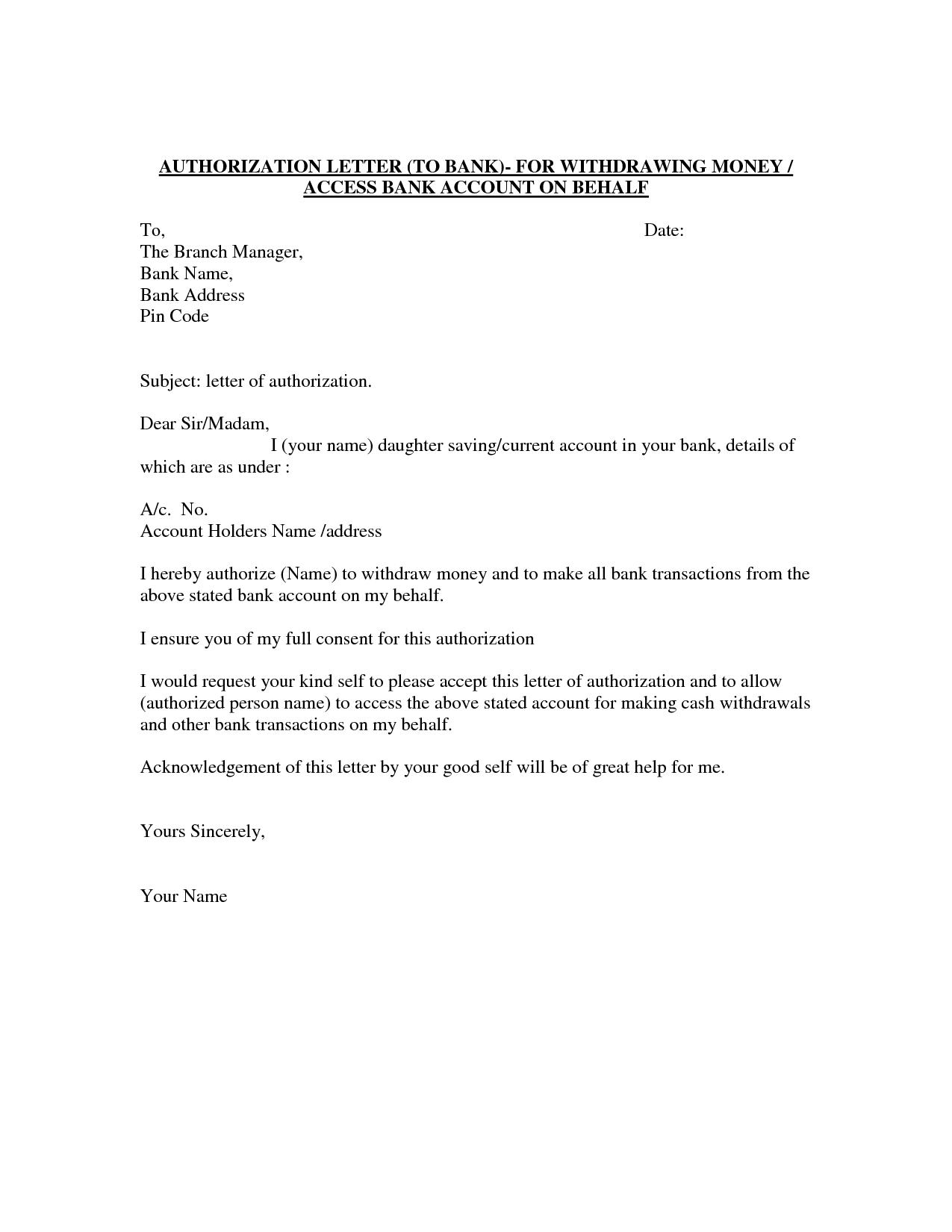Demand Letter Template - Authorization Letter Template Best Car Galleryformal Letter Template