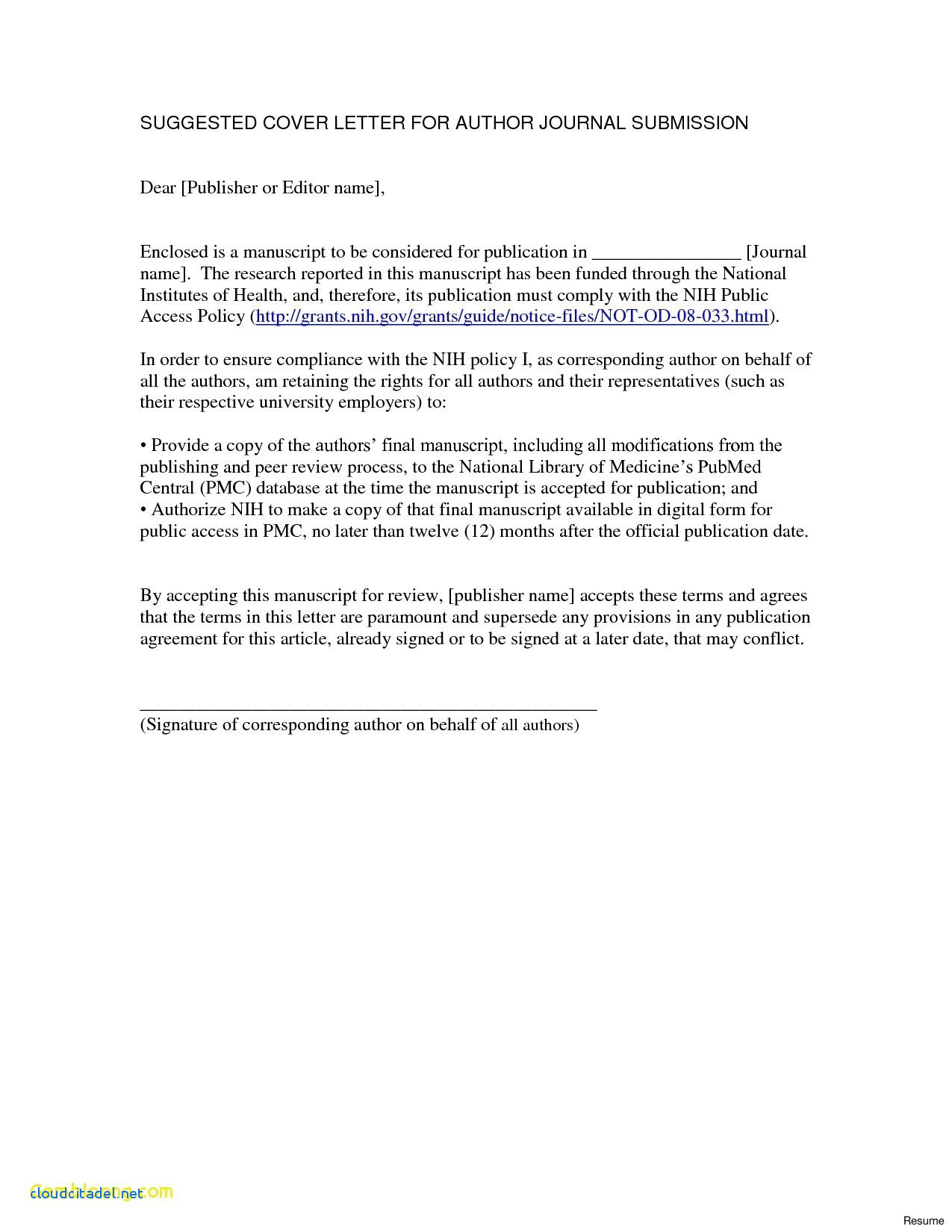 English Cover Letter Template Collection | Letter Template Collection