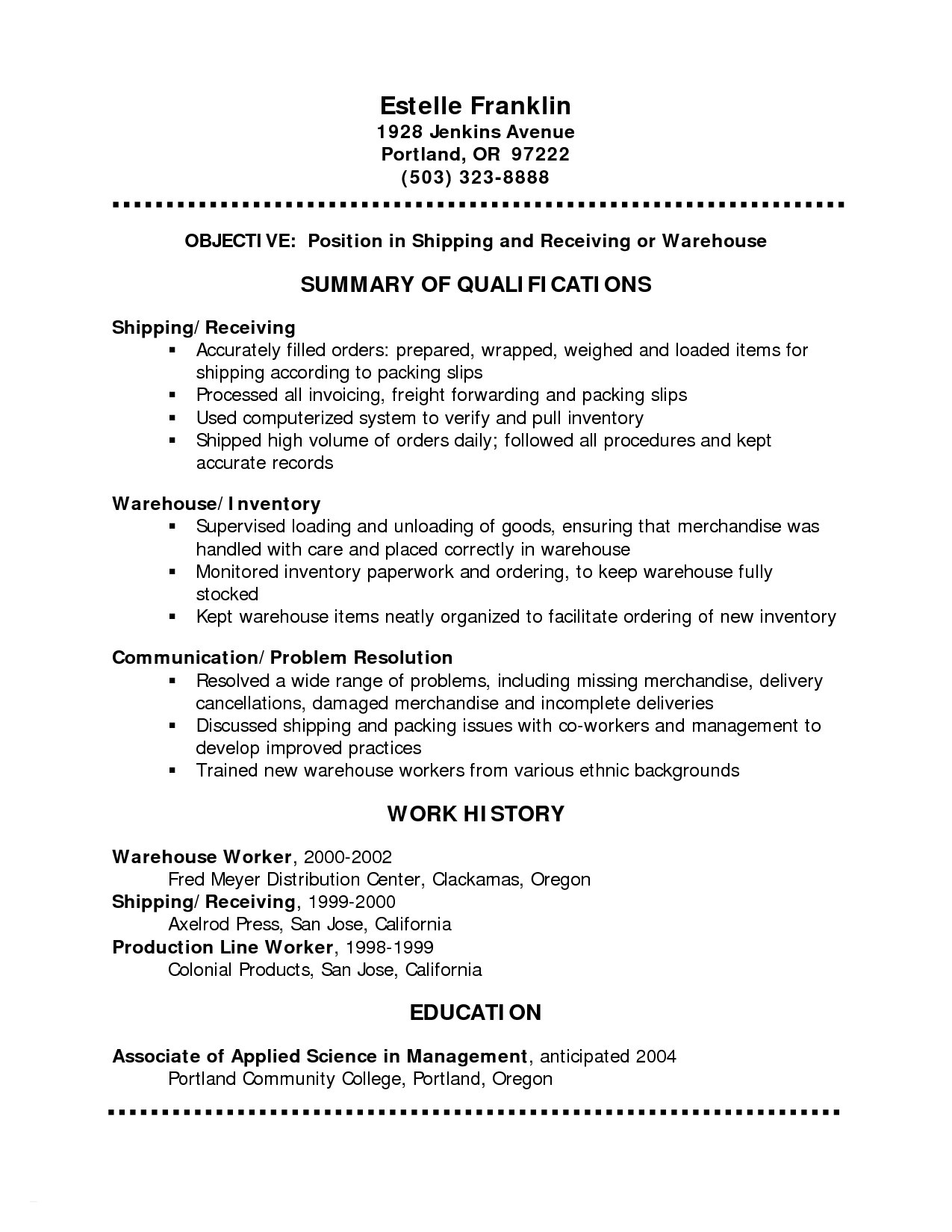 Pull Letter Template - Basic Resume Sample Free Download Free Job Resume Template Cover