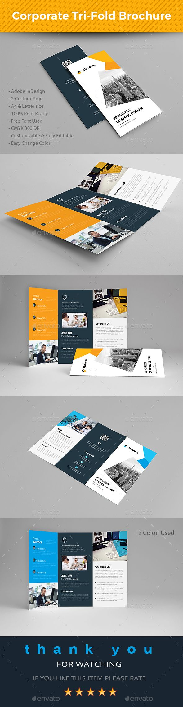 Letter Size Tri Fold Brochure Template - Best 779 Brochure Templates Images On Pinterest