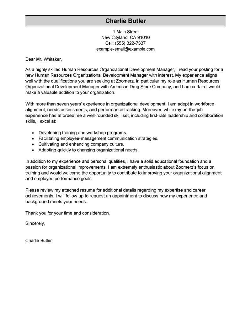 Child Support Modification Letter Template - Best organizational Development Cover Letter Examples
