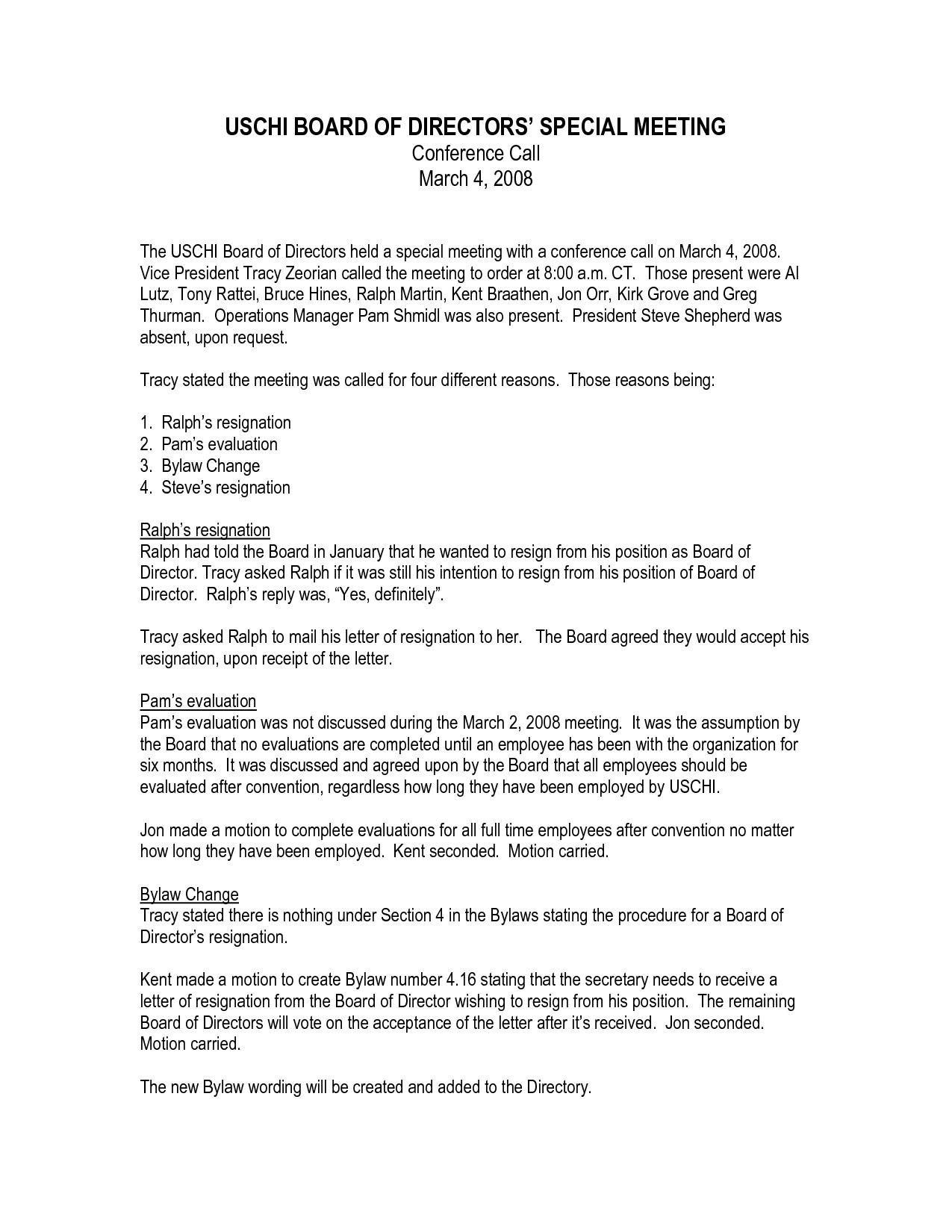 Board Member Resignation Letter Template - Board Member Resignation Letter Template Acurnamedia