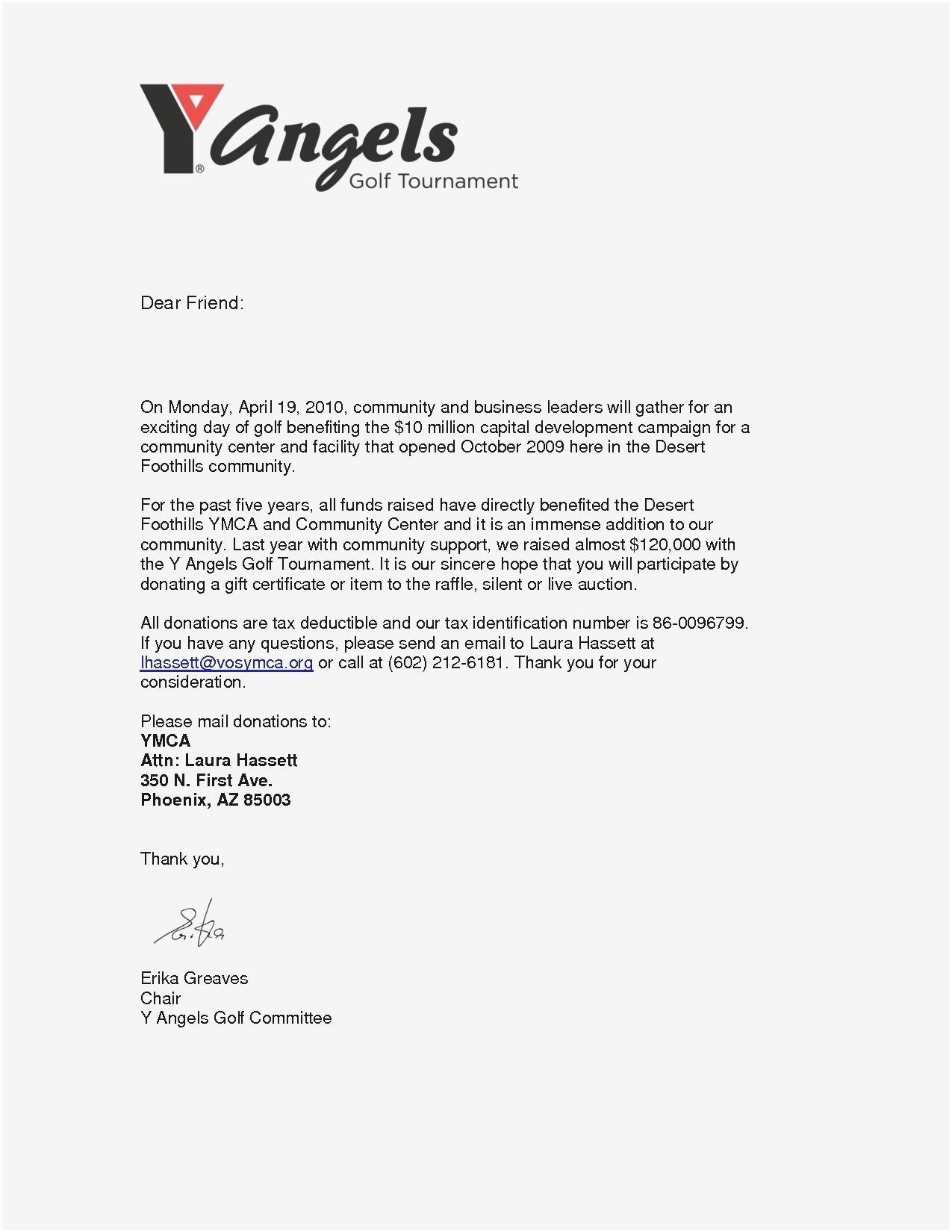 Silent Auction Donation Letter Template - Business Donation Letter Template Save Donation Request Letter