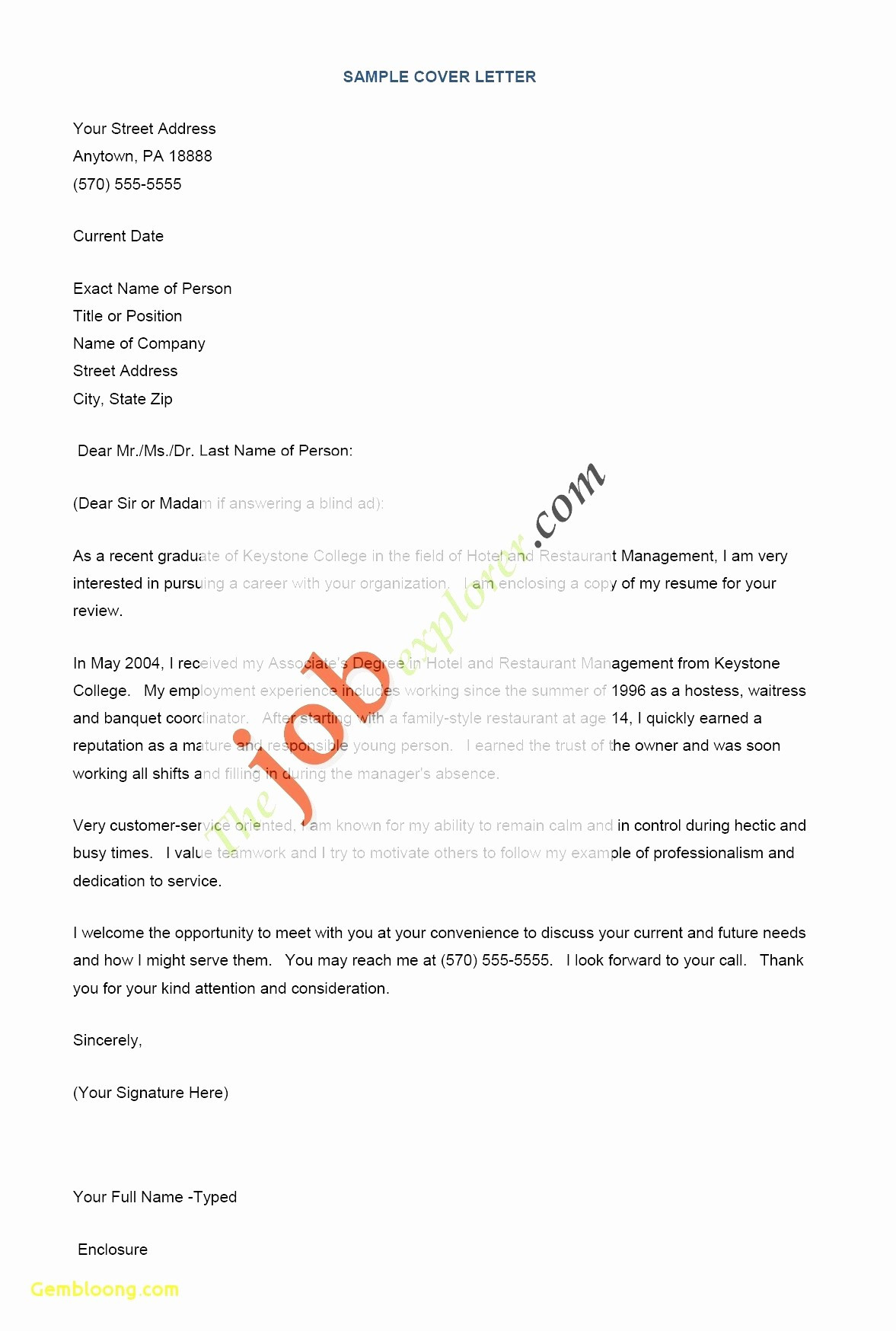 Career Builder Cover Letter Template - Career Builder Resume Templates Reference New Free Easy Resume