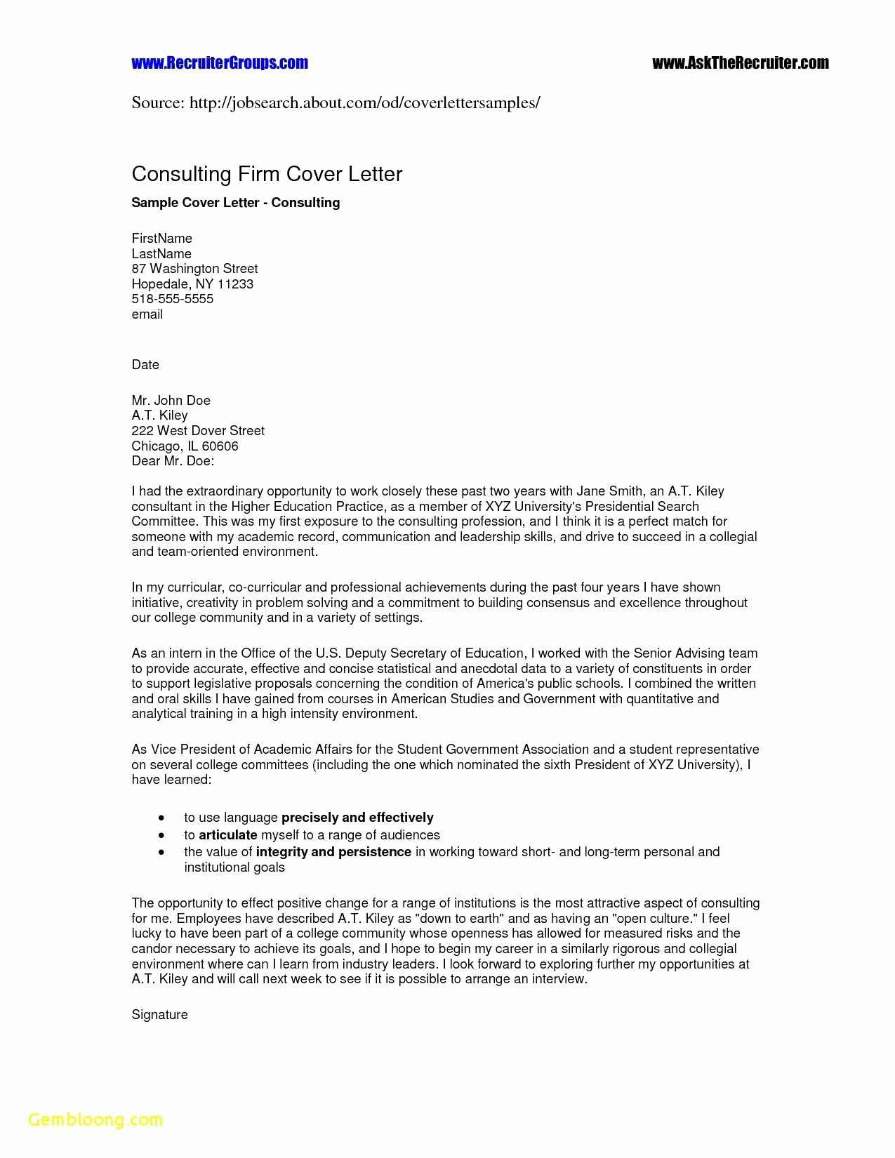 Career Builder Cover Letter Template Examples