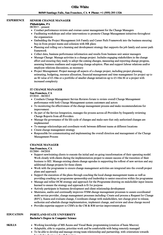 Aml Comfort Letter Template - Change Manager Resume Samples