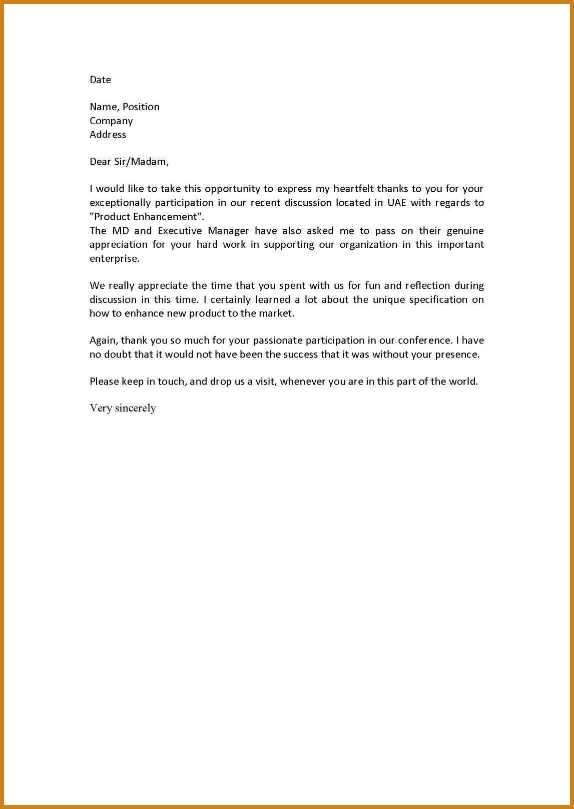 immigration letter of support for a friend template