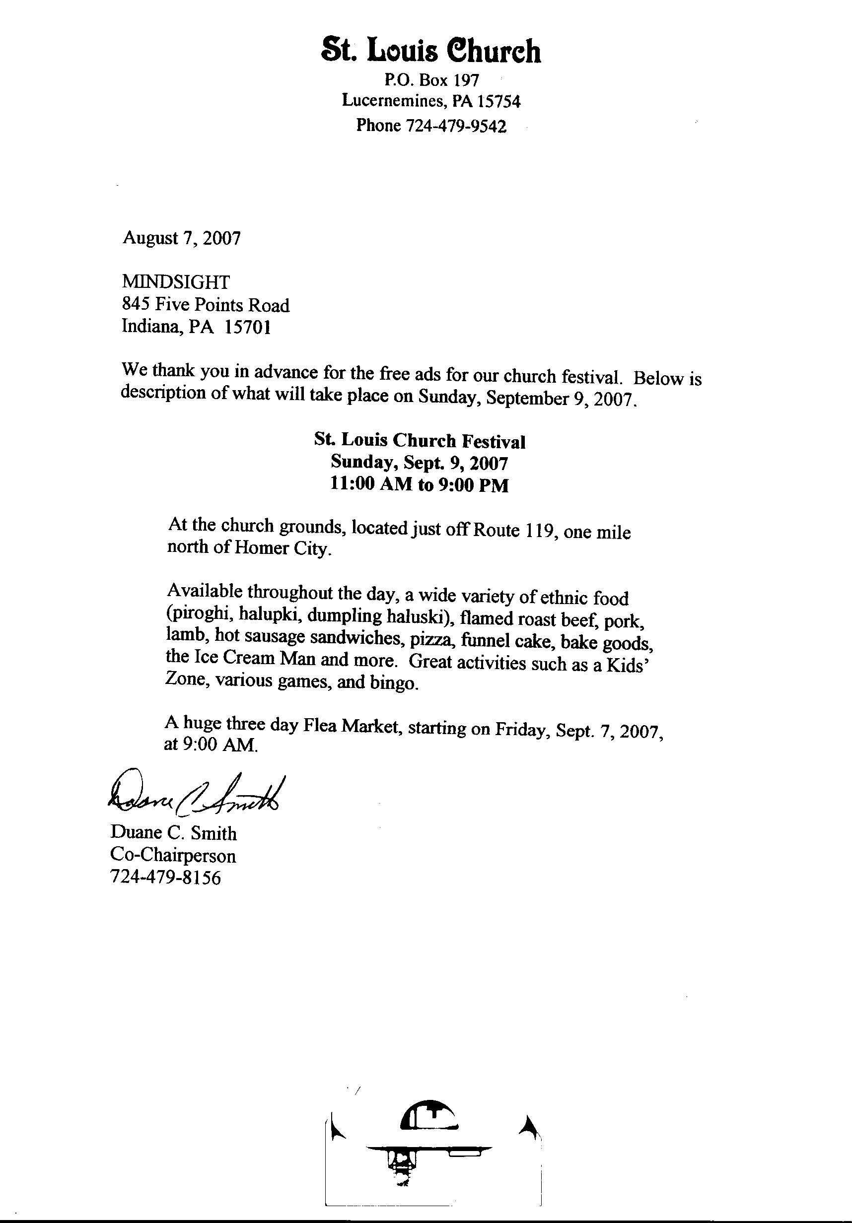 Donor Thank You Letter Template - Church Donation form Template to Her with Donation Thank You