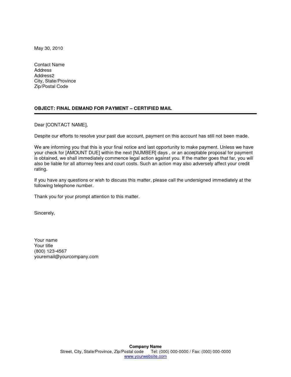 Final Notice before Legal Action Letter Template Uk - Collection Collections Notice Template Notice Template Regarding