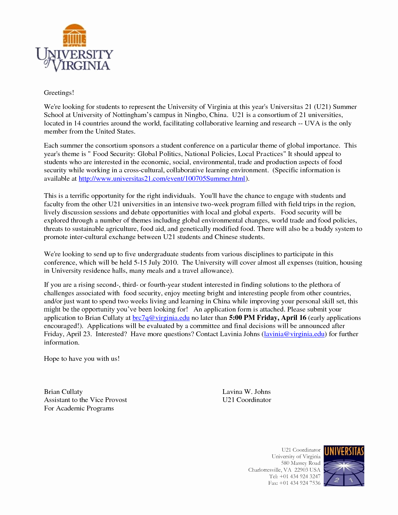 college application cover letter template collection | letter