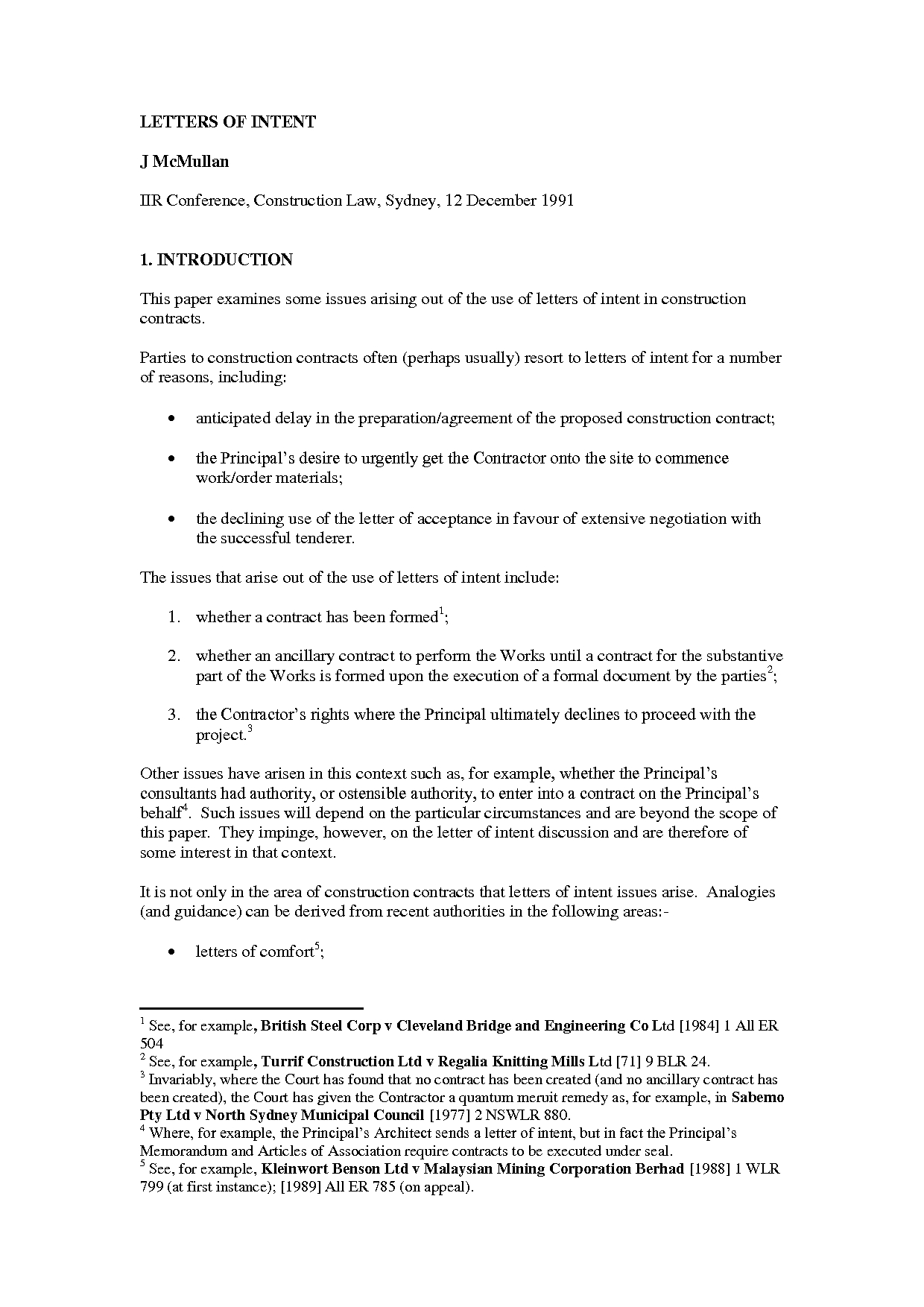 Letter Of Intent Construction Template - Construction Letter Intent Template format to Lien Highest