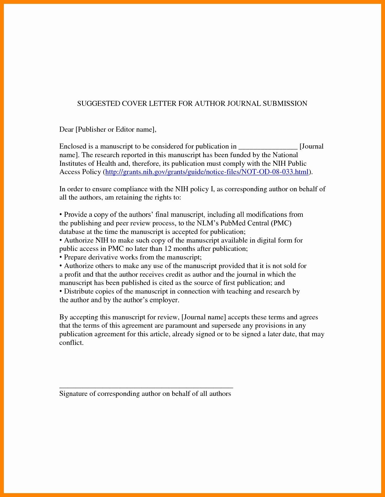 Manuscript Cover Letter Template - Cover Letter Example for Line Application Best Inspirational Cover