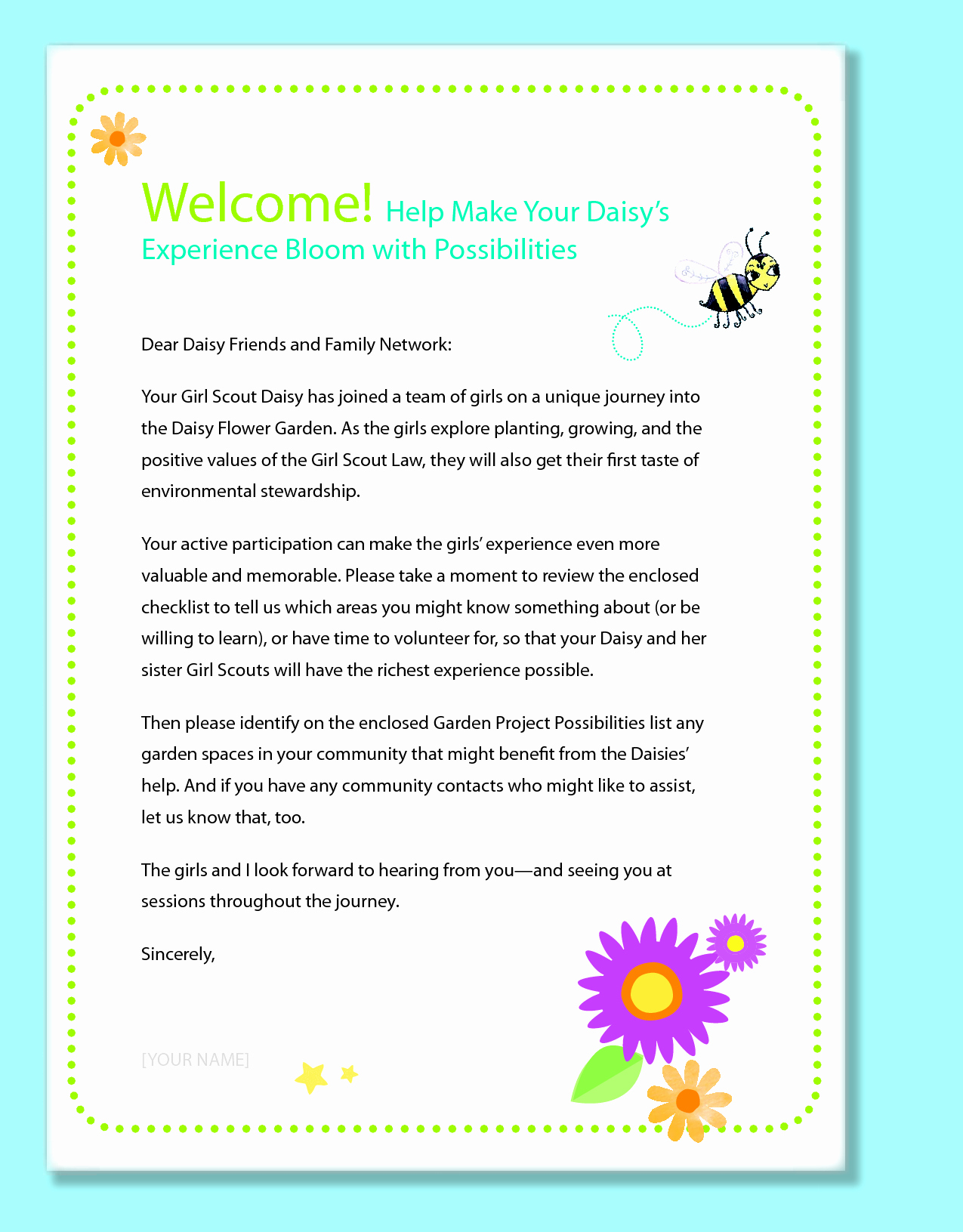 Preschool Welcome Letter Template - Cover Letter for Preschool Teacher New Preschool Wel E Letter to
